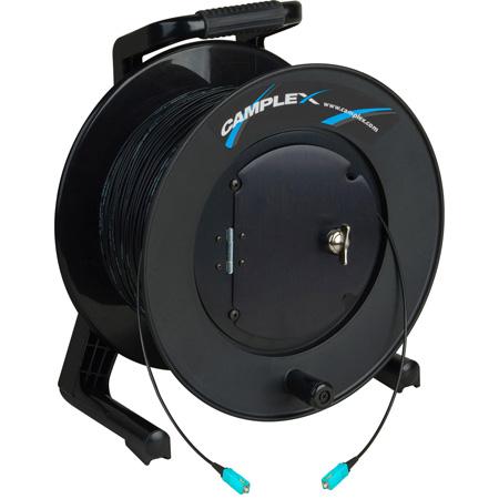 Camplex TAC1 Simplex OM3 Multimode SC Fiber Optic Tactical Cable on Reel - 1000 Foot