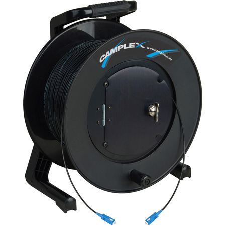 Camplex TAC1 Simplex Singlemode SC Fiber Optic Tactical Cable Reel - 1000 Foot