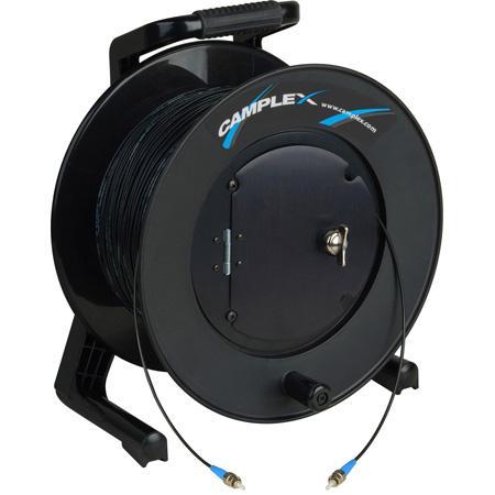 Camplex TAC1 Simplex Single Mode ST Fiber Optic Tactical Cable Reel - 500 Foot