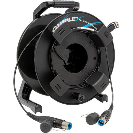 Camplex opticalCON DUO SMPTE 311M Single Mode Fiber Optic OB Reel 328 Foot