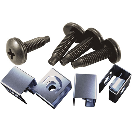 Hammond CLPKIT1032-100 Rack Screw and Clip Kit 100 pack