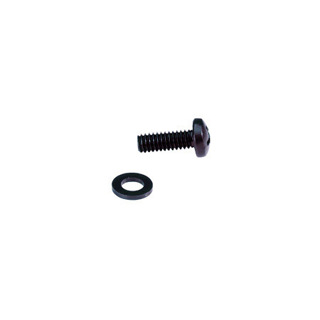 Phillips Head 5/8in Long 12-24 Rack Screws with Washers 100Pc