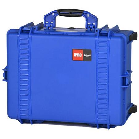 HPRC 2600WE  Wheeled Hard Case - Blue - Empty