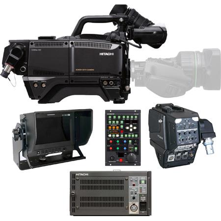 Hitachi SK-HD1800-TX HDTV 1080p CMOS 3Gbps Digital Triax Camera Package with TU-HD1000 CCU & Adapter - (no lens)
