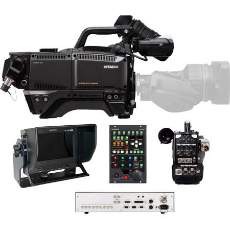 Hitachi SK-HD1800-ST HDTV 1080p CMOS 1.5Gbps Fiber Camera Package with Fiber CCU & CA-HF1000 Adapter Head - (no lens)