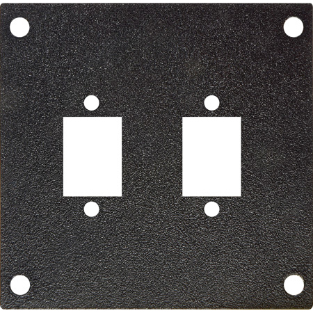 Camplex Quad LC Fiber Feedthrus Pre-Punched Frame Module for HY45 System