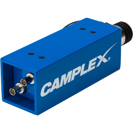Camplex HYDAP-F1 SMPTE 311M LEMO EDW Jack to Duplex ST Fiber Optic Adapter