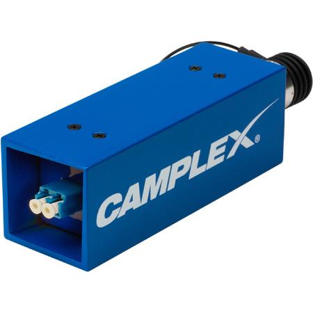 Camplex SMPTE Lemo EDW 311M Female to Duplex LC Fiber Optic Adapter