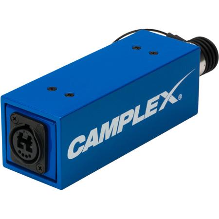Camplex SMPTE Active/w Power SMPTE 311M Female to Neutrik opticalCON DUO Fiber Optic Adapter