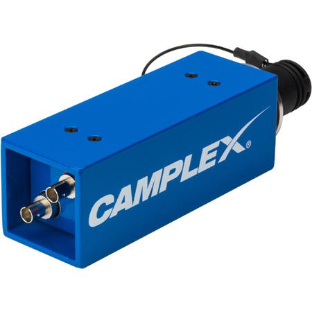 Camplex HYDAP-M1 Passive SMPTE 311M Lemo FXW Male to Duplex ST Fiber Optic Adapter/Converter