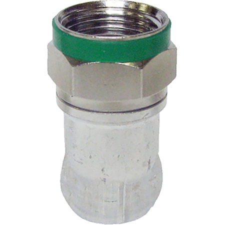 ICM DB6U Double Bubble RG-6 F Coax Compression Connector for RG6 / Belden 1694A / Gepco VSD2001