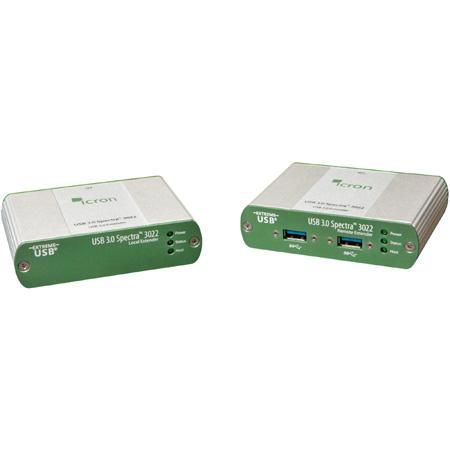 Icron 3022 USB 3.0 Spectra 3022 Two-port Multimode fiber 100m Extender