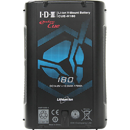 IDX CUE-H180 179 Watt-Hour Li-Ion V-Mount Battery with 1x D-Tap