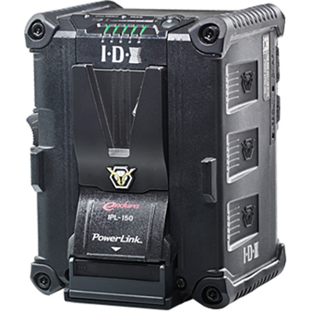 IDX IPL-150 PowerLink Endura V-Mount Battery with 2 On Battery D-Taps / USB Outputs - 143Wh Capacity - Li-Ion