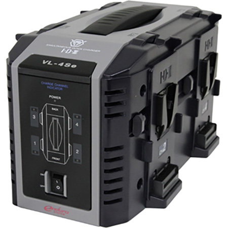 IDX VL-4SE 4-Channel Simultaneous Quick Charger