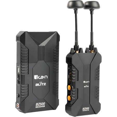 ikan BZ500-PRO Blitz 500 Pro Wireless Video Kit with Batteries and Charger