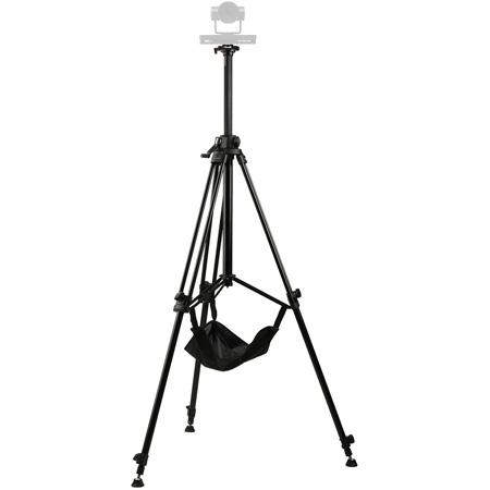 E-IMAGE GA230-PTZ Aluminum Tripod with Rising Center Column and Quick Release Plate for PTZ Cameras
