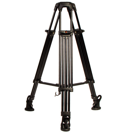 E-Image GA752 2 Stage Aluminum Tripod 75mm Ball with Mid-Level Spreader