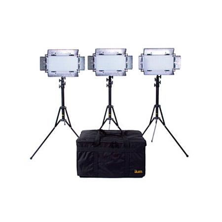 ikan IB508-V2-KIT Kit with 3 x IB508-v2 Bi-color LED Studio Light