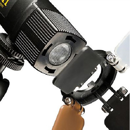 ikan iLED-MS Micro Spot On-Camera Light with Built-in Li-Ion Battery
