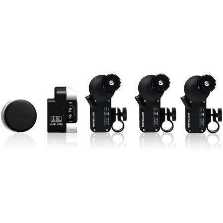 PDMOVIE PDL-PFZI Three-Channel Live Pro Lens Control System