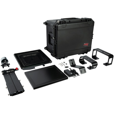 ikan PT4700-SDI-TK Professional 17 Inch High Bright Beam Teleprompter with 3G-SDI Travel Kit