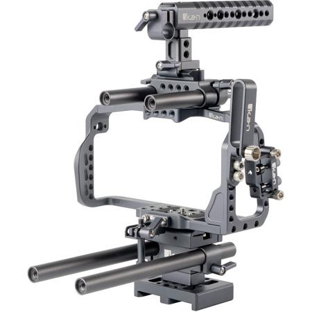 ikan STR-BMPCC4K STRATUS Complete Rig - Cage for the Blackmagic Pocket Cinema 4K Camera