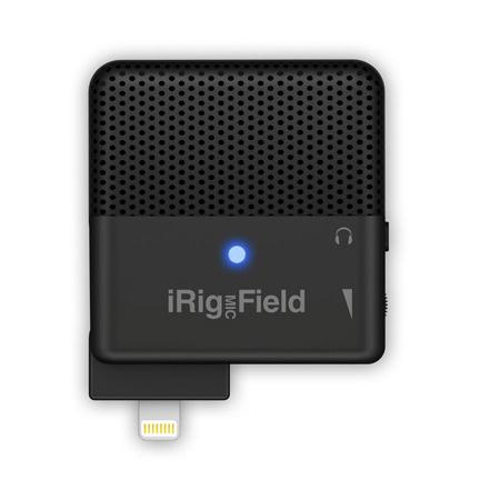 IK Multimedia iRig Mic Field Stereo Digital Field Recording iOS Microphone