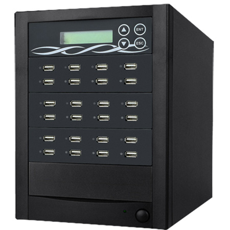 ILY U23-SSPX8 23 Target Xtreme USB Duplicator - Copy USB Flash Drive and USB Hard Drive