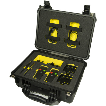 Interspace Industries MC3-S3 TFC MicroCue3 3 USB Twin Pro Kit - with 2 x 3-Button Standard Handset