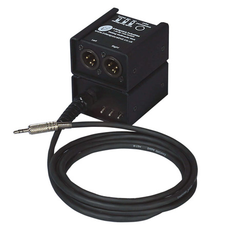 Interspace Industries PCBBJ Passive Balancing & Hum Eliminator Jack I/P