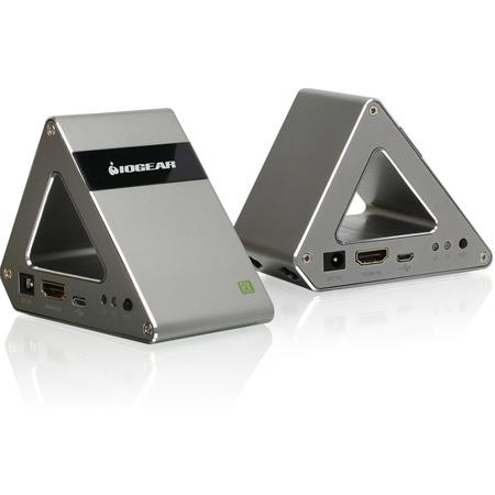 IO Gear GW4K30GH60 Ultra-Fast 60GHz Wireless 4K UHD HDMI Video Extender