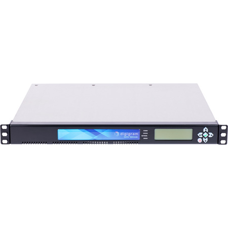 Digigram IQOYA SERV/LINK Dante 1U Multi-Stereo/Channel Full Duplex IP Audio Codec - AES/EBU/AES67/MADI/Dante/Analog