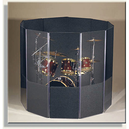 ClearSonic IsoPac C Drum Acoustic Isolation Booth