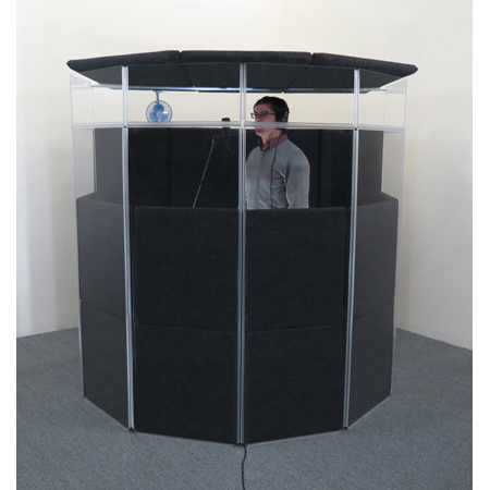 ClearSonic IsoPac E Large Acoustic Isolation Booth