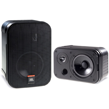JBL C1 PRO 2-Way 150-Watt Personal Monitor Black - Pair