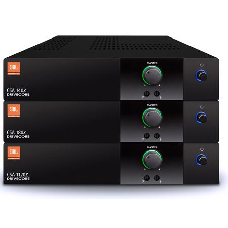 JBL CSA1120Z 120W 1U Commercial DriveCore Amplifier - Built-in 70/100V Fanless