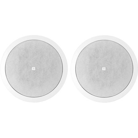 JBL Control 26CT 6.5in 2-Way Vented Ceiling Speaker with Multitap Transformer - Pair