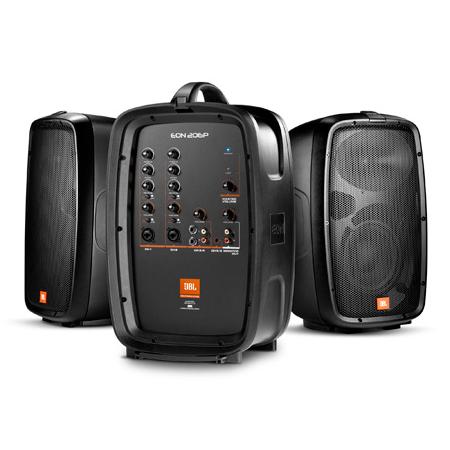JBL EON206P Portable 6.5 Inch 2 Way System W/ Detachable Powered Mixer