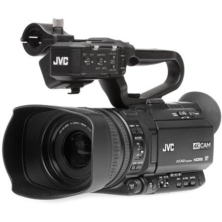 JVC GY-HM180U 4KCAM Camcorder with AC Power Supply