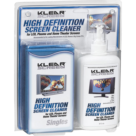 Klear Screen KS-HDK High Definition Cleaning Kit Plasma and LCD Screen Cleaner