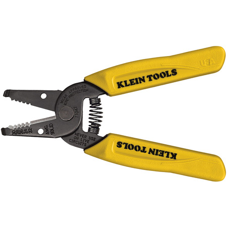 Klein Tools 11047 Solid Wire Stripper for 22-30 gauge
