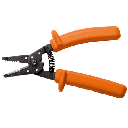 Klein Tools 11055-INS Insulated Klein-Kurve Wire Stripper/Cutter