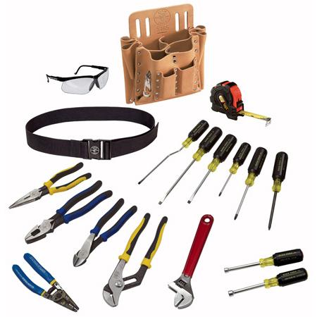 Klein Tools 80118 Journeyman 18-Piece Tool Set