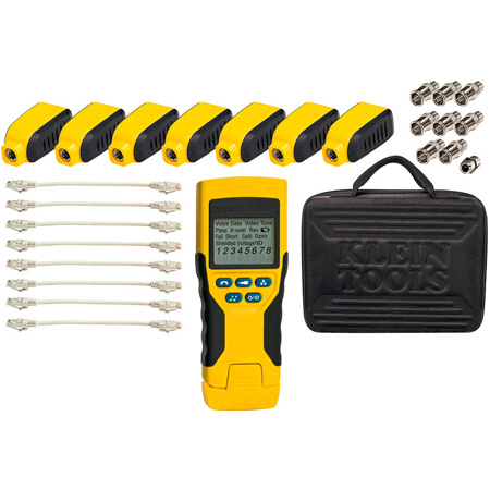 Klein Tools VDV501-824 Scout Pro 2 Tester with Test-n-Map Remote Kit