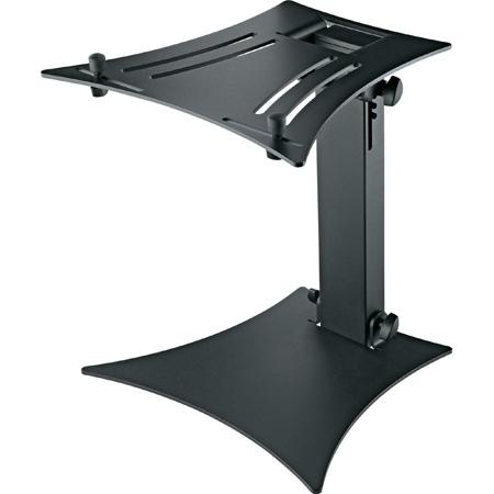 K&M 12190 Folding Laptop Stand - Structured - Black