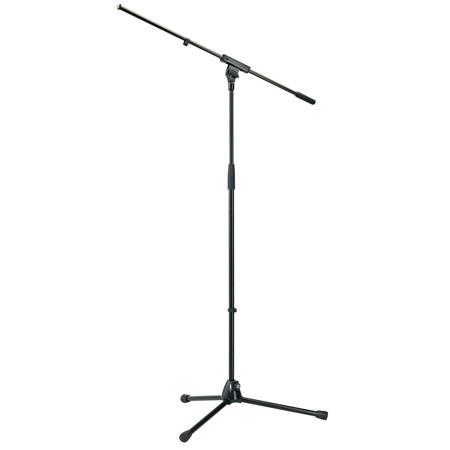 K&M 210/6 Microphone Stand - Black