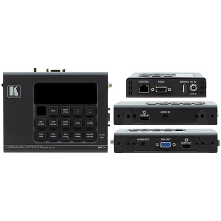 Kramer 860 4K 18G HDMI HDR Signal Generator & Analyzer