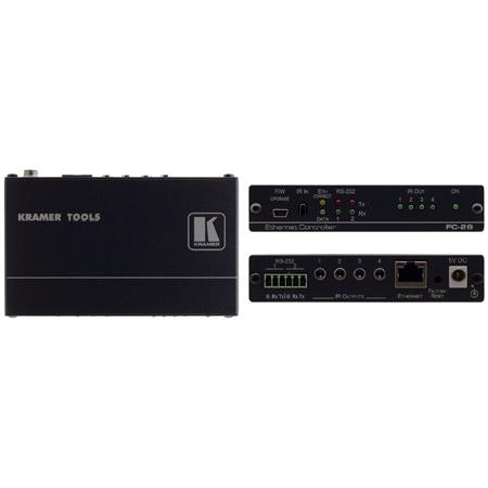 Kramer Control FC-26 Six port Serial and IR PoE Control Gateway