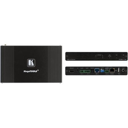 Kramer TP-594RXR 4K HDR HDMI Receiver over PoE Extended-Reach HDBaseT 2.0